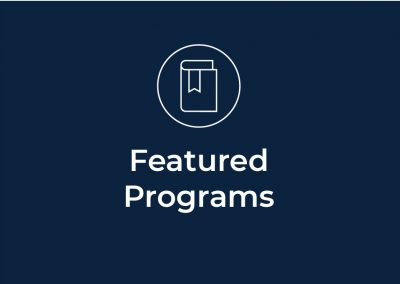 Featured Programs